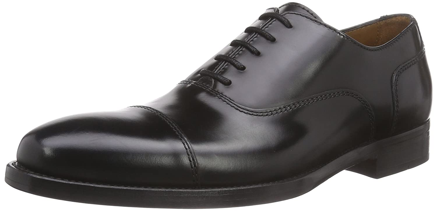 772e28811985 Lottusse Men s Holborn L6591 Oxfords Black Size  6.5  Amazon.co.uk  Shoes    Bags
