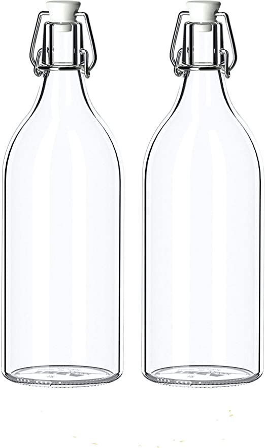 botella cristal agua ikea