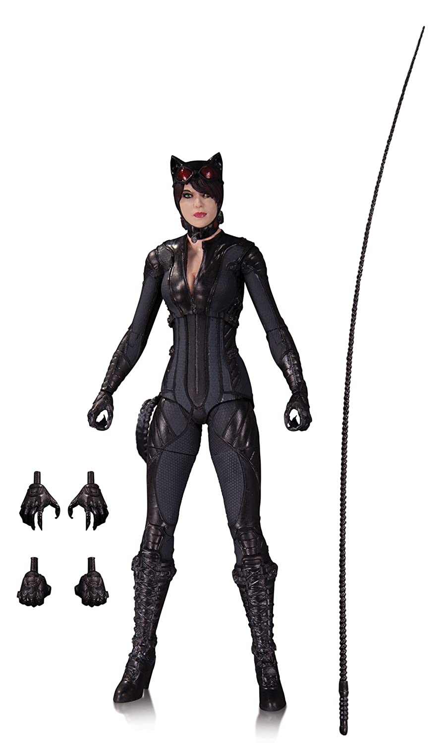 Amazon.com DC Collectibles Batman Arkham Knight Catwoman Action Figure Toy Toys u0026 Games  sc 1 st  Amazon.com : catwoman costume for children  - Germanpascual.Com