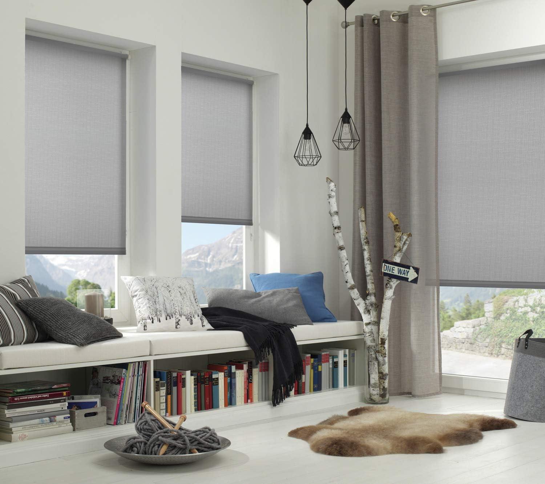 Gardinia EASYFIX Rollo Uni Tenda a Rullo Bianco 6 x 15 cm Tessuto Tende a  rullo Decorazioni per interni