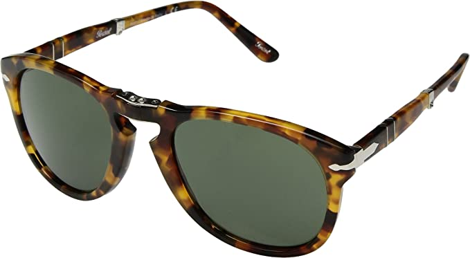 716338490f5 Amazon.com  Persol Men s 0PO0714 Folding Madreterra Green One Size ...