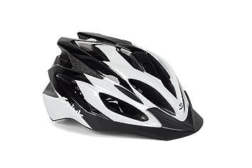 Spiuk Tamera - Casco de ciclismo, color negro/blanco, talla 58-62