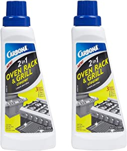 Carbona 2-In-1 Oven Rack And Grill Cleaner Bagged 16.8 Oz (2 PACK)