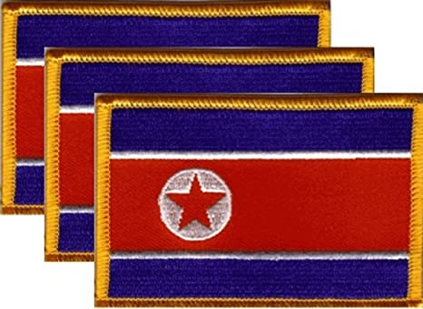"""IRON-ON NEW 2.5 x 3.5/"""" FREE SHIPPING KAZAKHSTAN FLAG EMBROIDERED PATCH"""