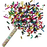 Talking Tables Party Time Confetti Canon  for General party decoration or a birthday party, Multicolor