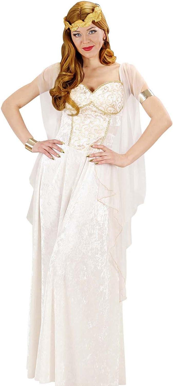 WIDMANN- Disfraz de Diosa Griega para Adultos, Multicolor, 38 ...