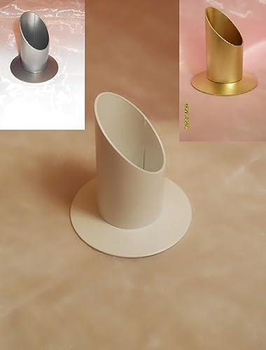 Kerzenteller goldfarbe für Taufkerze /& Kommunionkerze