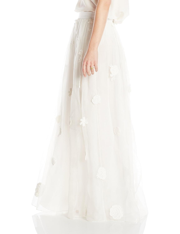 Samantha Sleeper Womens Embroidered Bridal Skirt