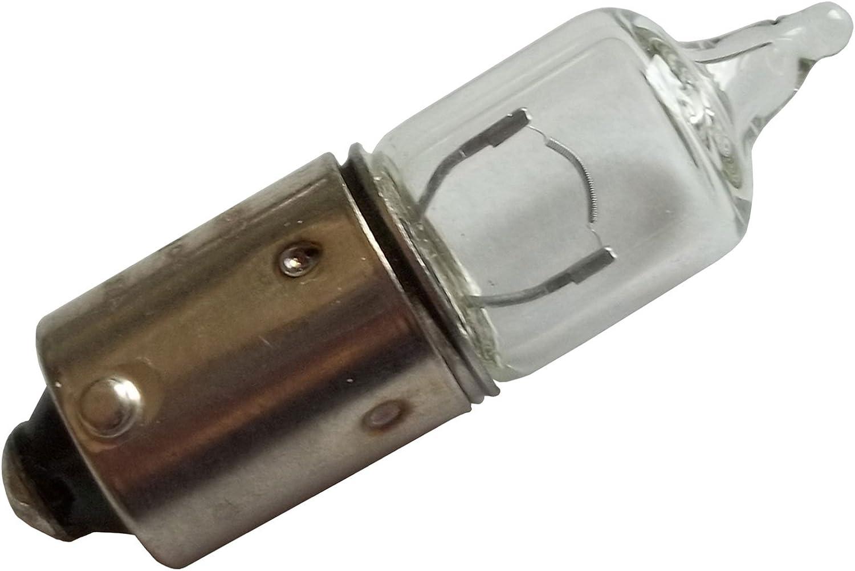 Philips 12036/Lot de 2/ampoules halog/ènes CP H6/W