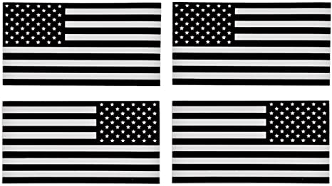 """American Flag Decal Sticker Tactical Subdued v3 Military 8/"""" in."""