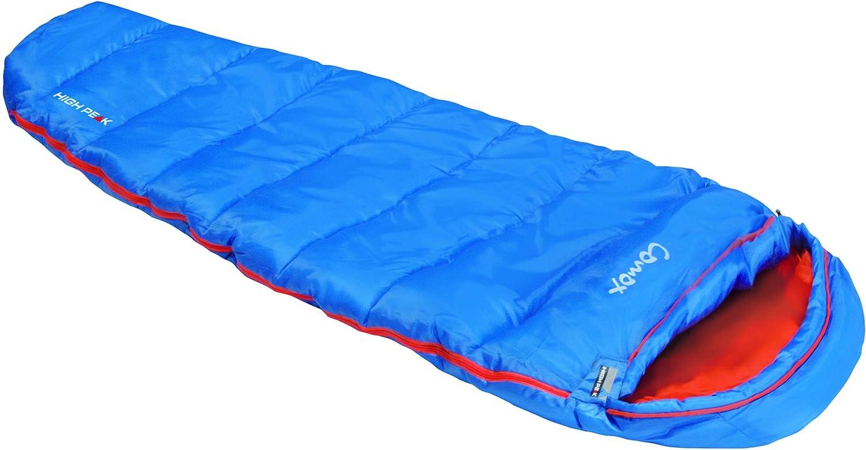 High Peak Enfants Sac De Couchage Momie Camping Extérieur Tente Bleu