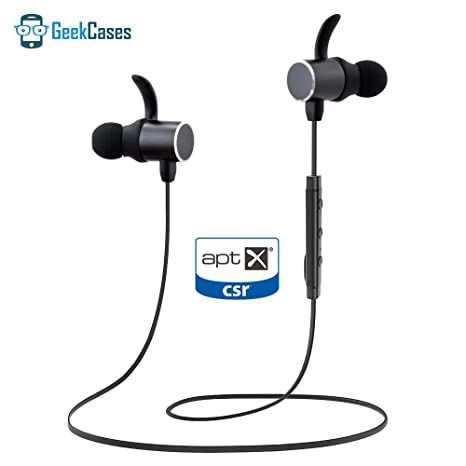 19c3d9329ca GeekCases Deep Bass Magnetic Bluetooth Earbuds with: Amazon.in: Electronics