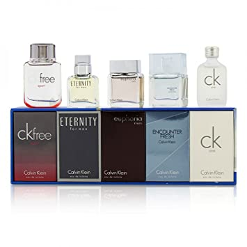 9f63a888a3 Image Unavailable. Image not available for. Colour: Calvin Klein Variety 5  Piece Gift ...