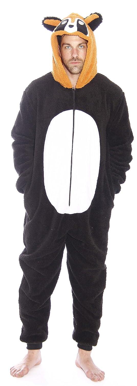 #followme Raccoon Adult Onesie Pajamas