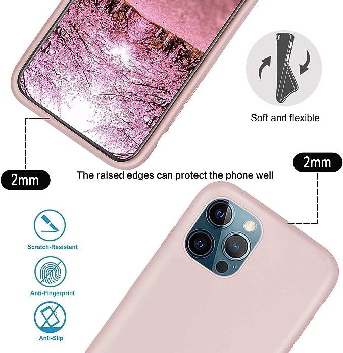 Bigcousin Funda con Cuerda Compatible con iPhone 7//8//SE 2020,Ultrafina Suave Transparente TPU con Ajustable Collar Cadena Cord/ón,Negro