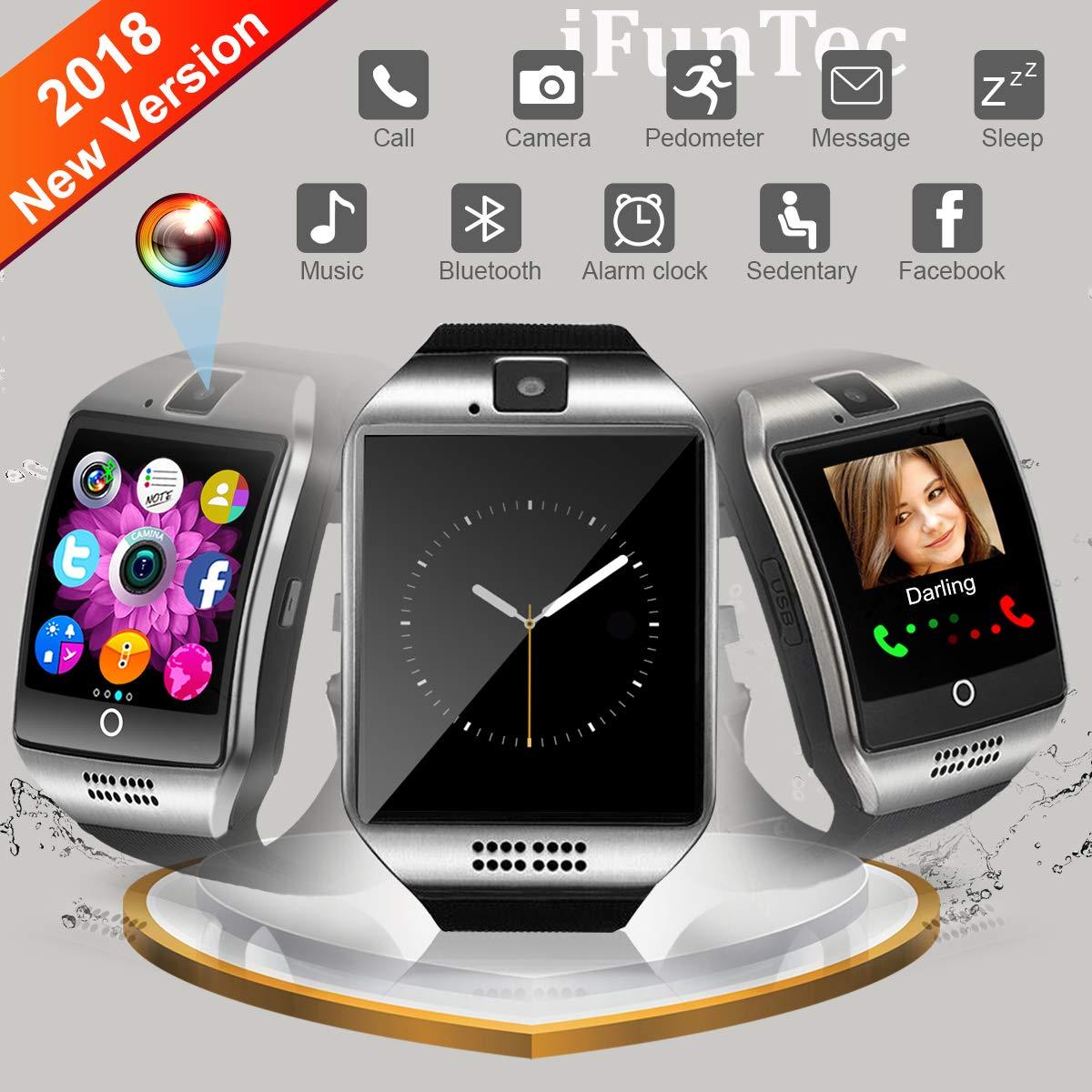 Reloj Inteligente, Smartwatch con Pulsómetro Correa Reloj ...