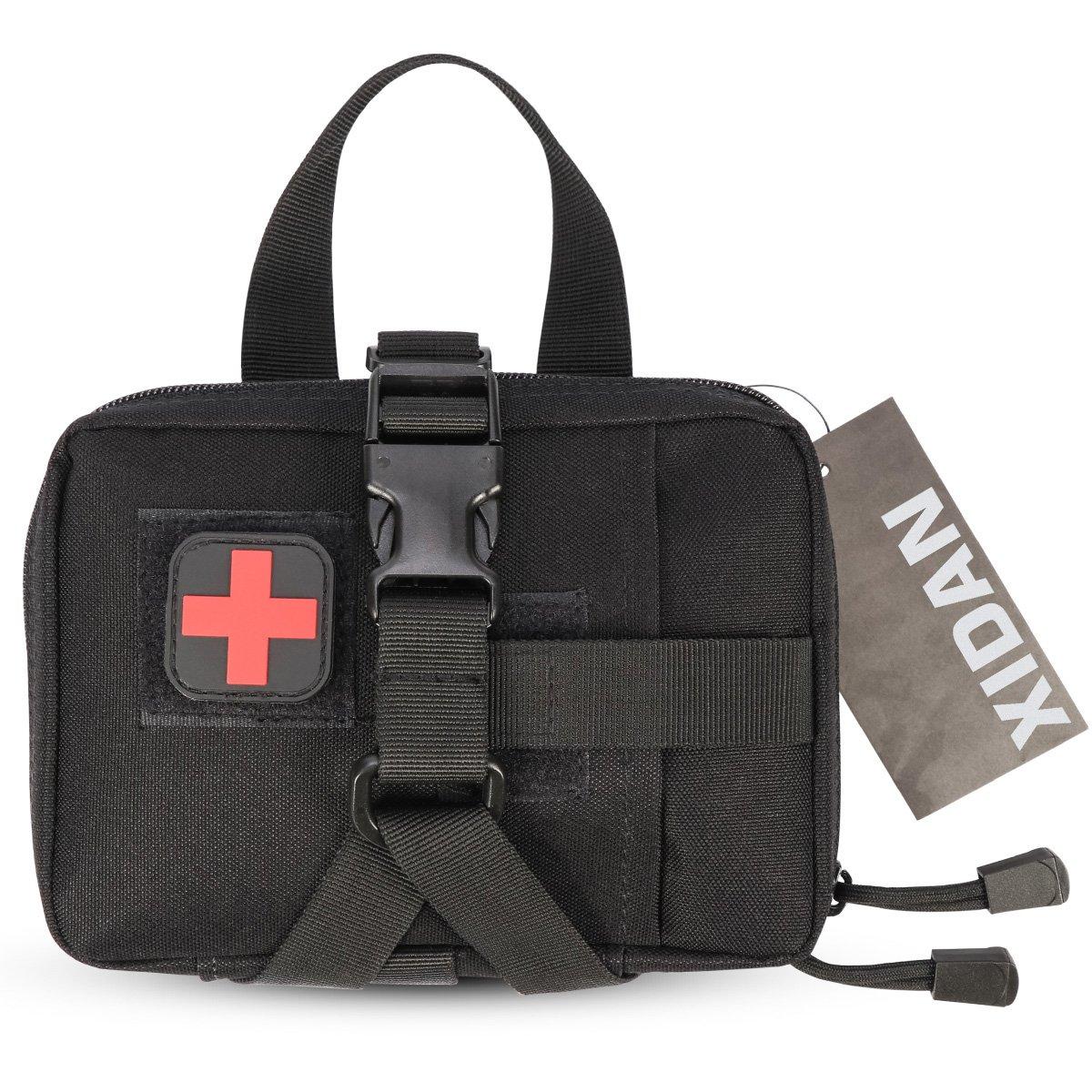 Xidan Bolsillo Medical EMT Desmontable Rá pido, Bolsillo Tá ctico Militar de los Primeros Auxilios, Bolso Utilitario Mé dico de Primeros Auxilios RIP-Away Bolsillo Táctico Militar de los Primeros Auxilios