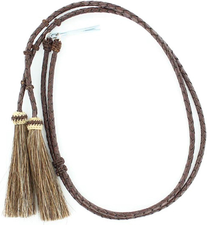 M & F Western Horsehair Tassle Stampede String