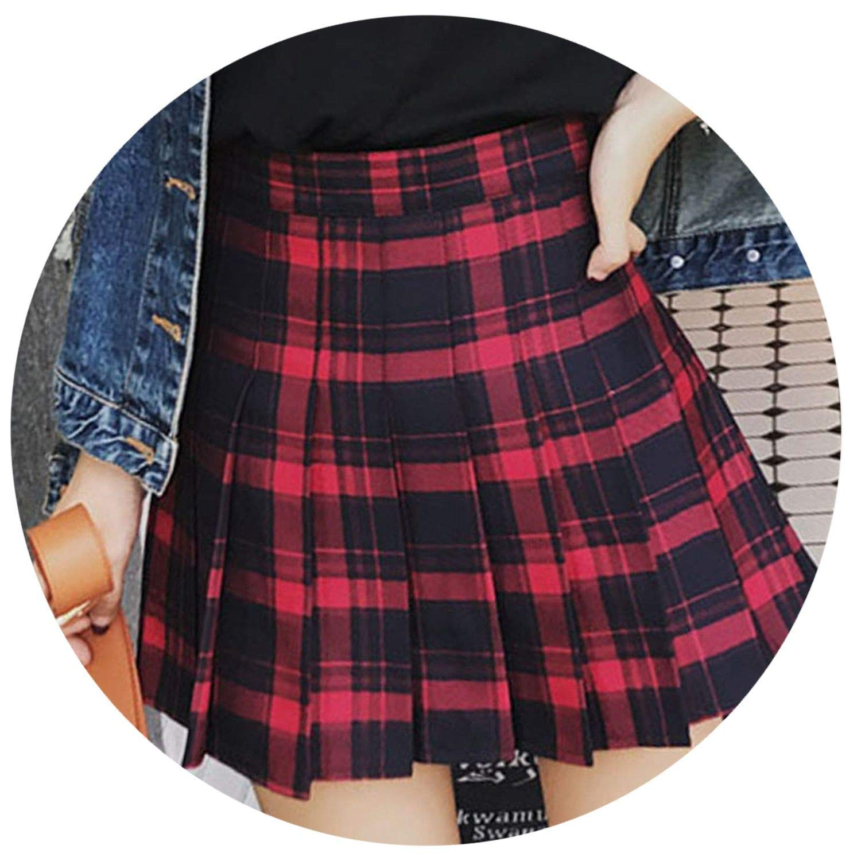 Plaid skirt video xxx