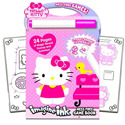 3d476f4a1 Amazon.com: Hello Kitty Imagine Ink Book: Toys & Games