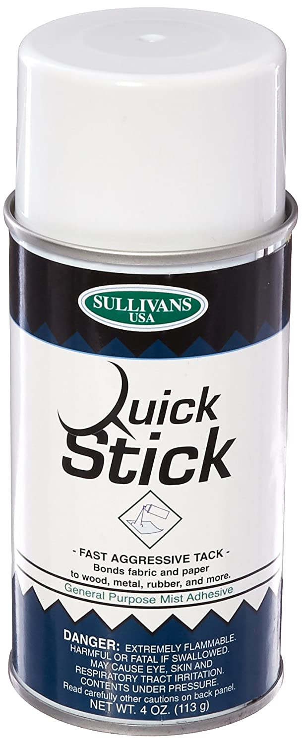 Sullivans 108S Quick Stick Adhesive Spray, 4-Ounce