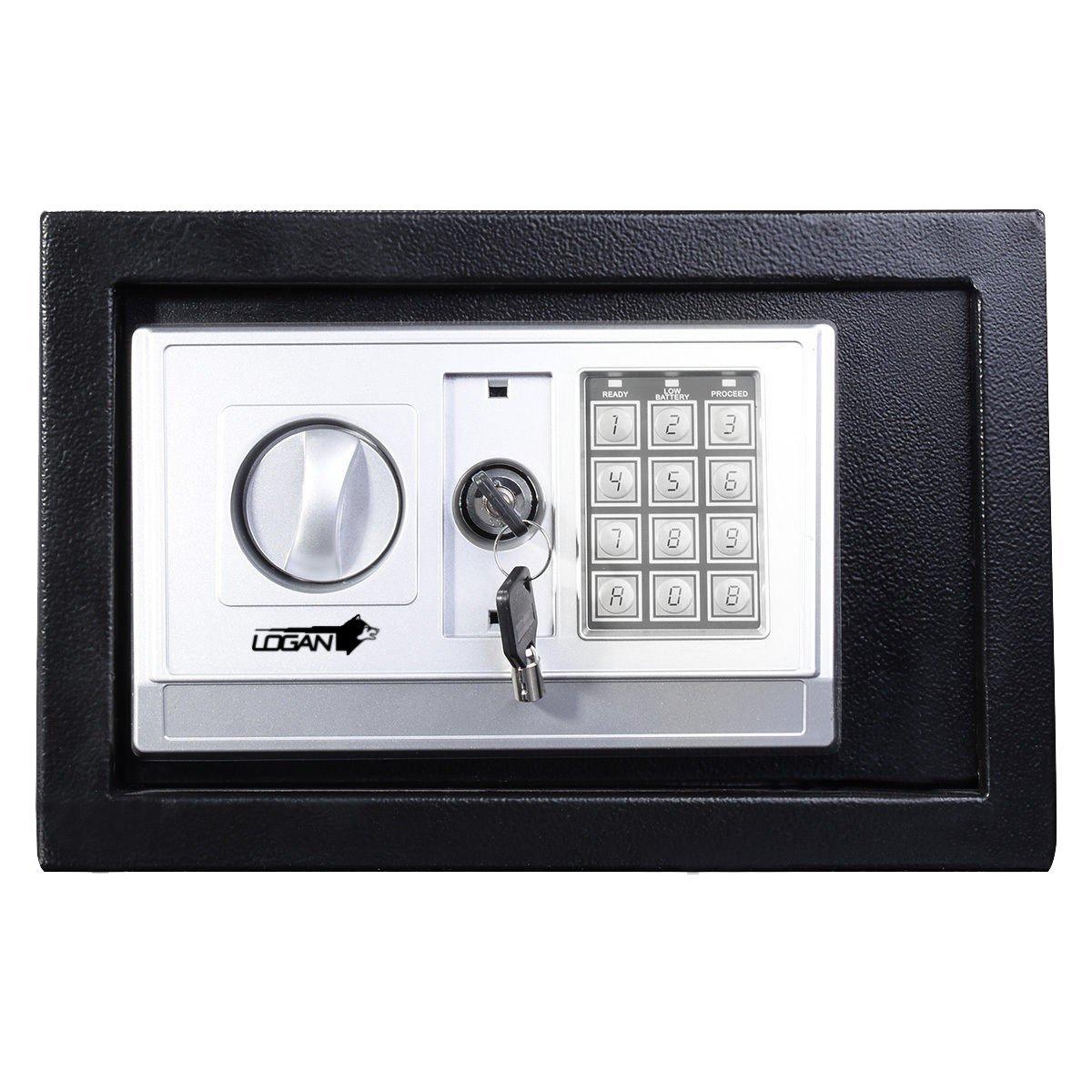 Amazon.com: Logan Digital Medium Size Safe Box (Medium, Black): Home Improvement