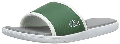fca5cfa640 Lacoste L.30 Slide Sport Tongs Homme, Vert (DK GRN/GRY 265) 46.5 EU ...