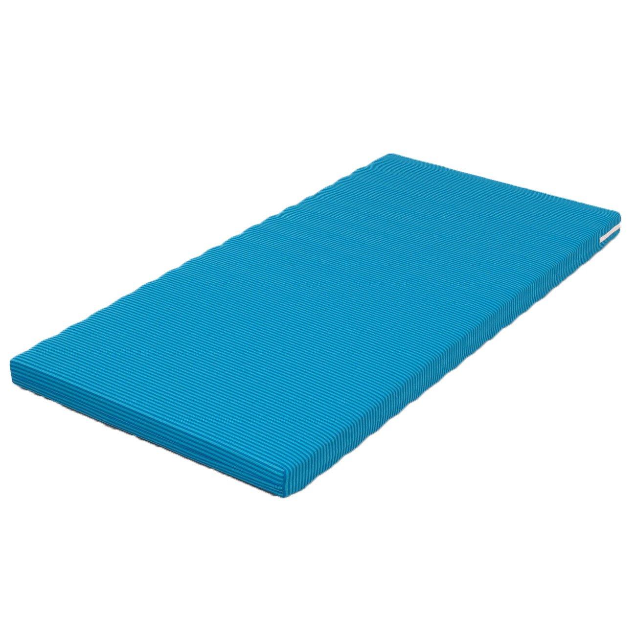 ウェルファン ベッドマットレス ハード&ソフト ブルー Wレギュラー   B005XWQB8A