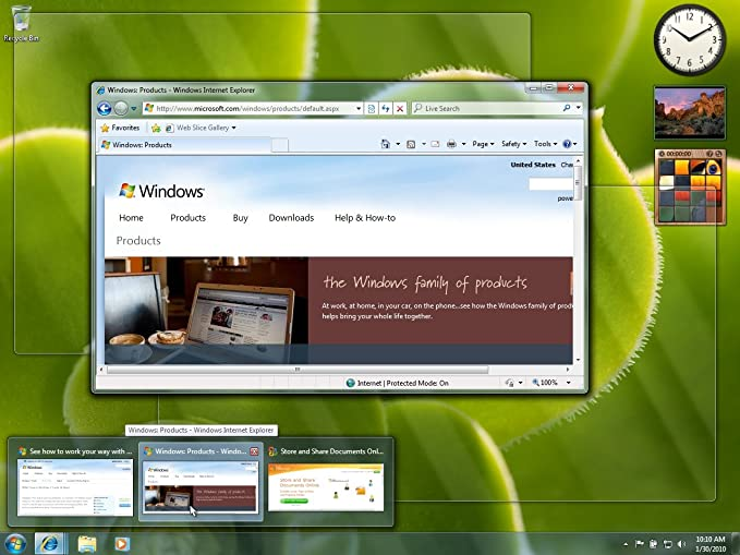 Windows 7 Home Premium 32/64 Bit englisch: Amazon.es: Software