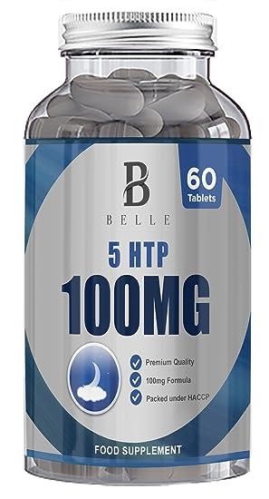 Suplemento de 100 mg de Belle® 5-HTP -Ayuda a aumentar los ...