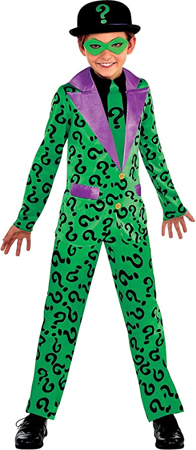 Suit Yourself Batman Classic Riddler Costume for Boys