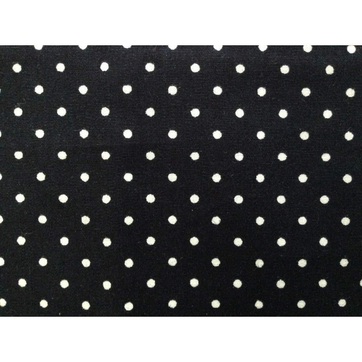 Ein Gepunktetes Stofftaschentuch schwarz wei/ß Herren Damen Punkte schwarzes Taschentuch Einstecktuch Unique Boutique