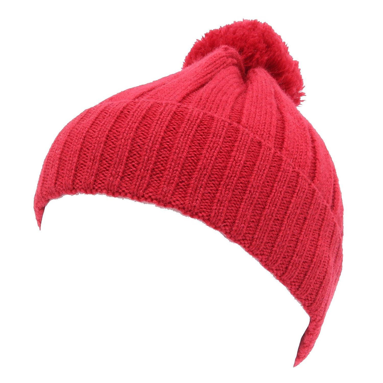 9420Q cuffia uomo K-WAY rosso lana hat men