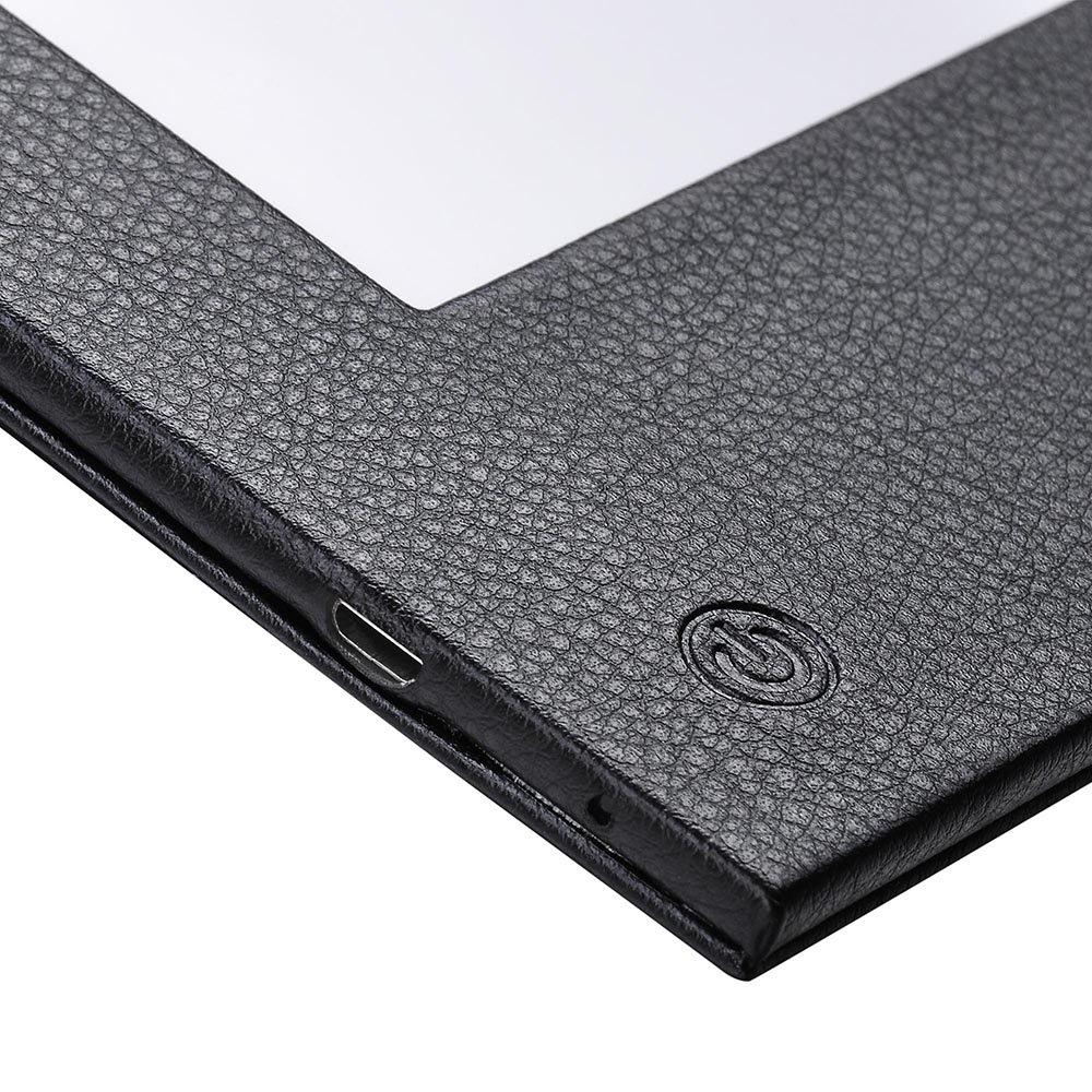 Yescom 8.5x14inches 1-panel LED Backlit Illuminated Black Leatherette Menu Holder//check Displayer