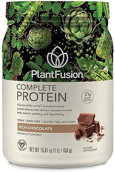 PlantFusion Complete Plant Based Pea Protein Powder