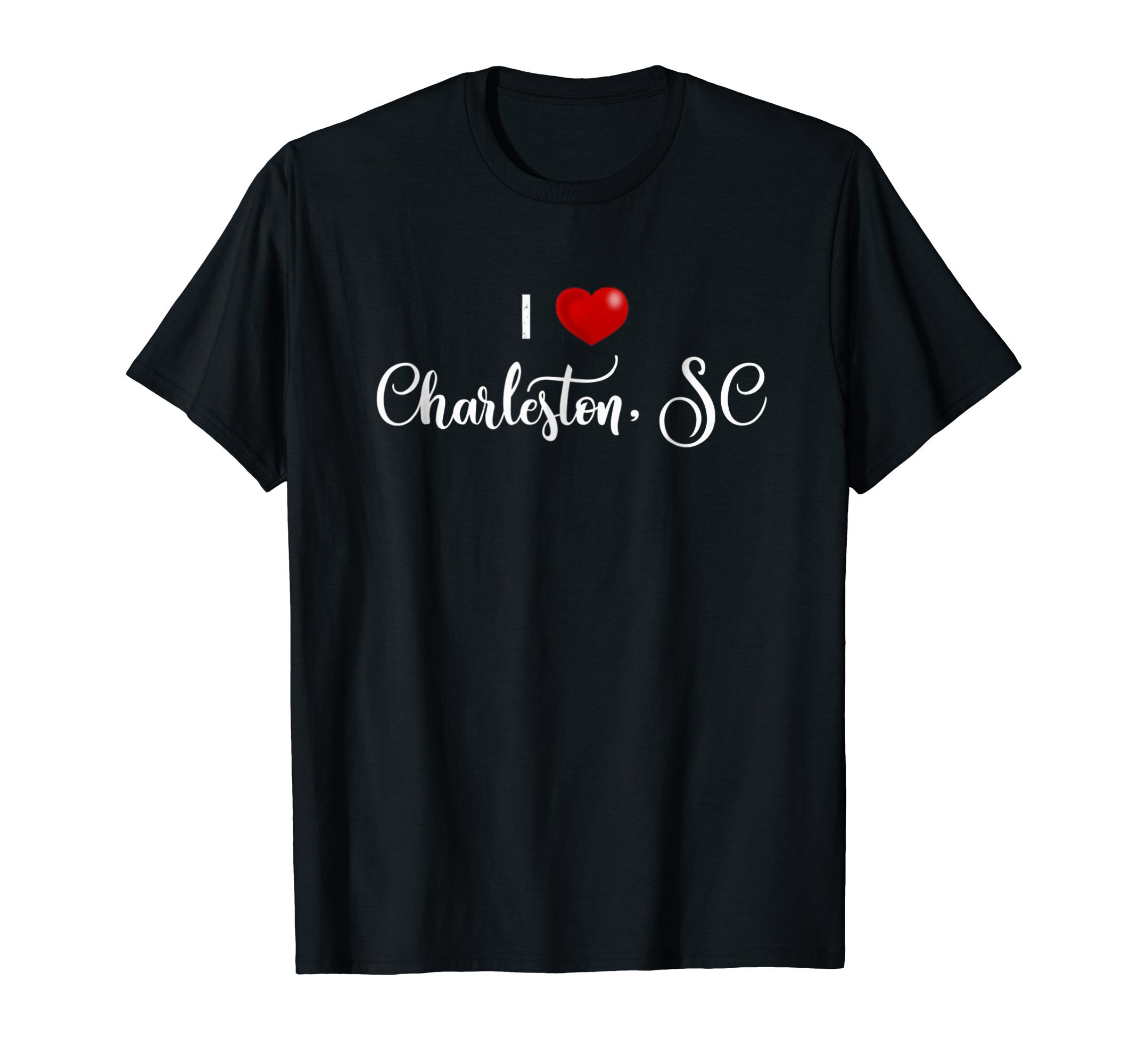 I Love Charleston SC Shirt for Women Men