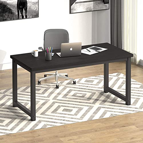 """NSdirect 63"""" Computer Desk,Modern Simple Style PC Table Large Office Desk Wide Workstation"""