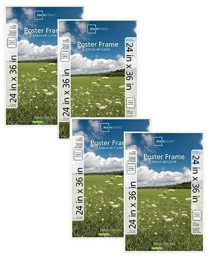 Enchanting 24 X 36 Frame White Festooning - Custom Picture Frame ...