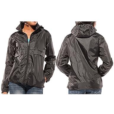 Amazon.com: Totes Women's Packable Rain Jacket: Clothing