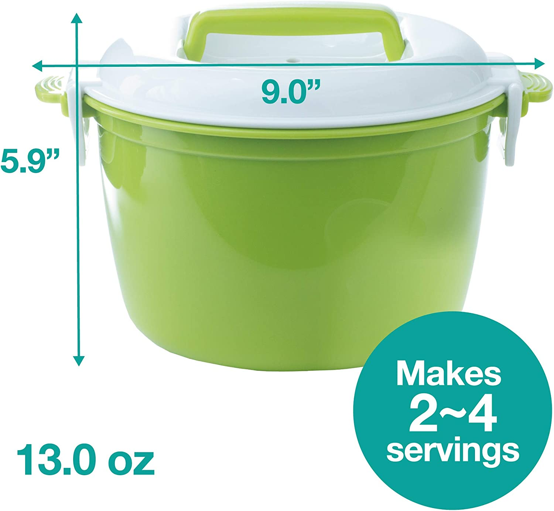Amazon.com: Andcolors - Vaporera de arroz para microondas ...