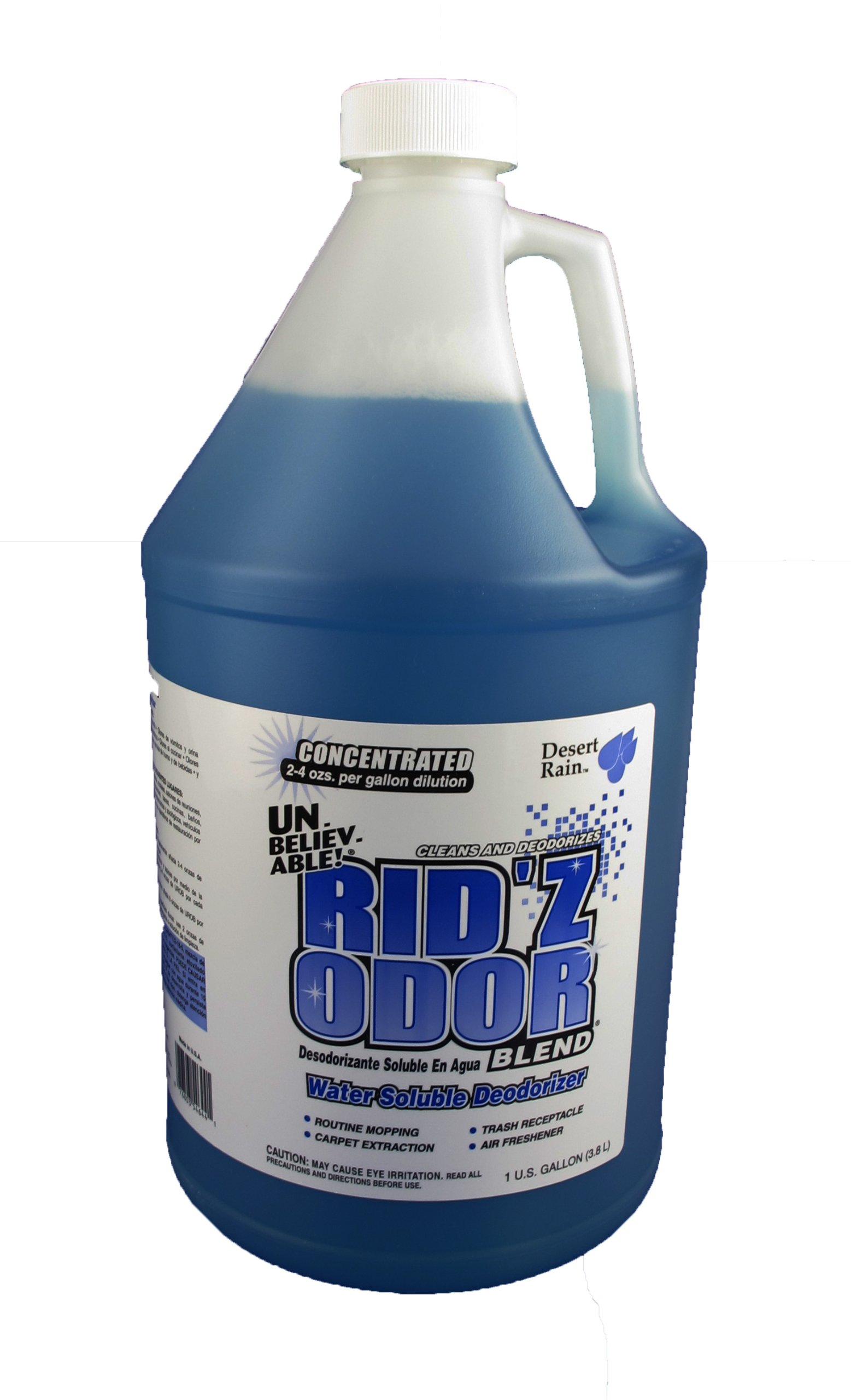Unbelievable! UROB-644 128 Oz. Rid'z Odor Desert Rain Blend Concentrated Deodorizer (Case of 4) by Core Products Company