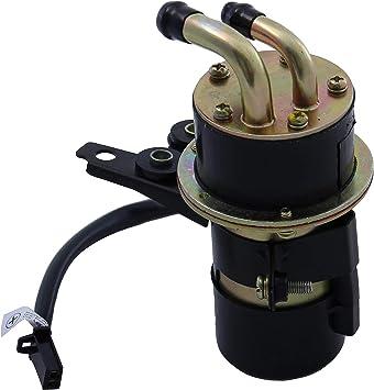 Kraftstoffpumpe Benzinpumpe Für Yamaha Fazer Fzs 1000 Vmax Yzf R6 R1 1000 12v Eingang Und Ausgang 8 Mm Abgewinkelt Auto
