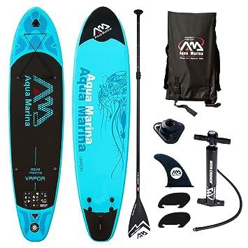 Aqua Marina Vapor 10.10 ISUP Sup Stand Up Paddle Board con Sport II Remo, Vapor Board+Sport II Paddel: Amazon.es: Deportes y aire libre