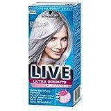Scharwzkopf Live Ultra Brights ou Pastel 098Acier Argent