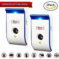 TOPELEK Repelente Ultrasónico de Control de Plagas x2