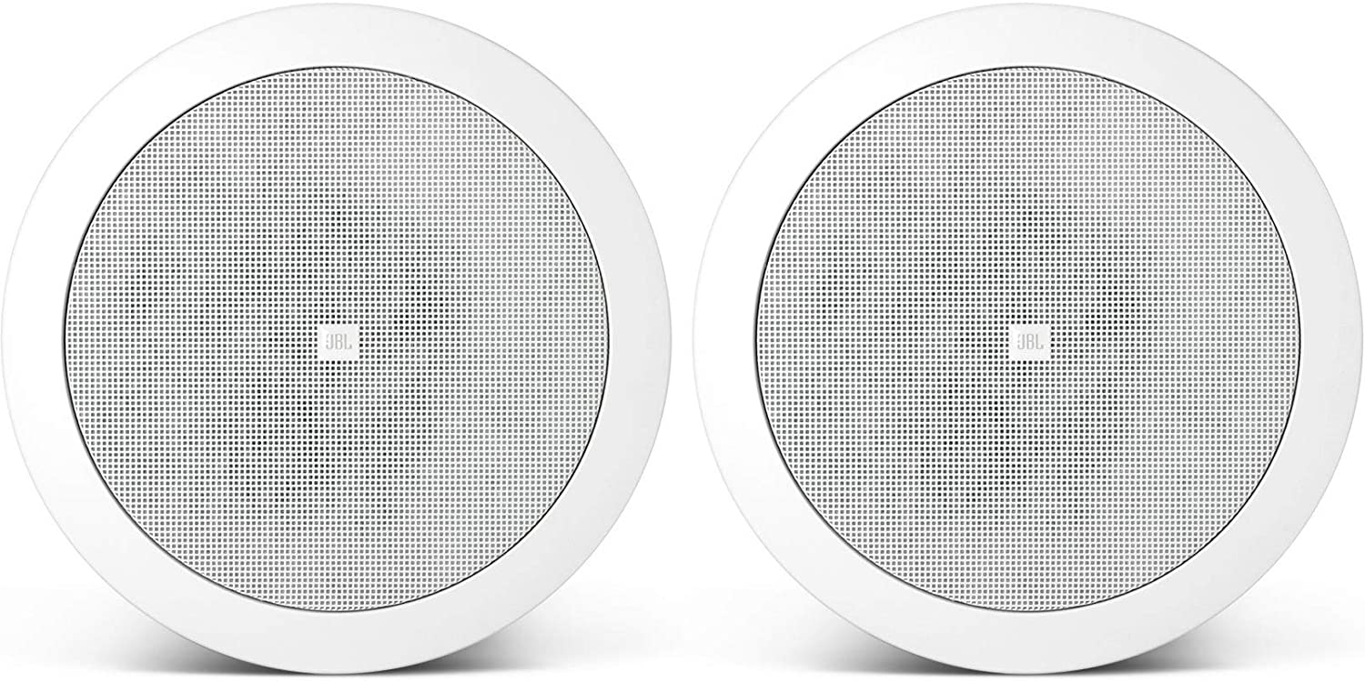 JBL Professional 24CT 4.5-Inch Background/ForegroundCeiling Speaker, White, Sold as Pair