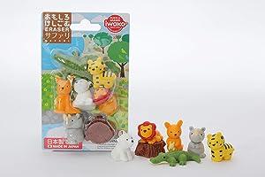 Iwako Japanese Safari Eraser Set (38328)