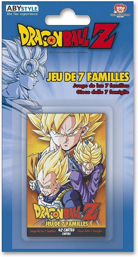 ABYstyle - Dragon Ball - Juego de Cartas - 7 familias DBZ: Amazon.es: Juguetes y juegos