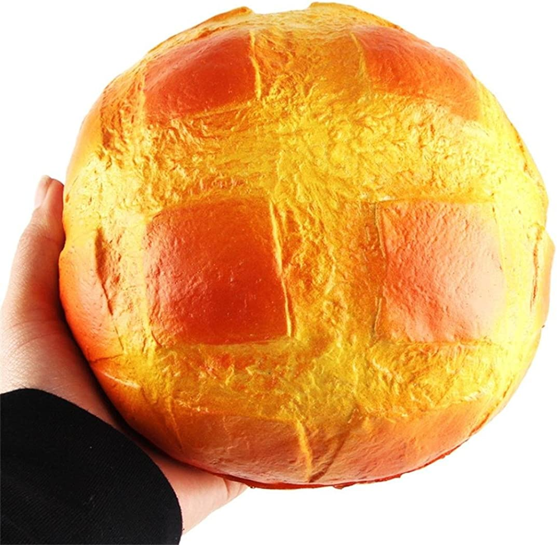 Sonnena Juguetes compresivos, Squishies Kawaii Juguetes Pan de piña Squishy Squeeze Toy Slow Rising Decompression Toys Stress Relief Juguete Suave Squeeze Toys (16 * 8.5cm, A)