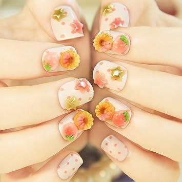 Amazon Fashion Japanese 3d Nail Art Love Pink 24 Nails Sold